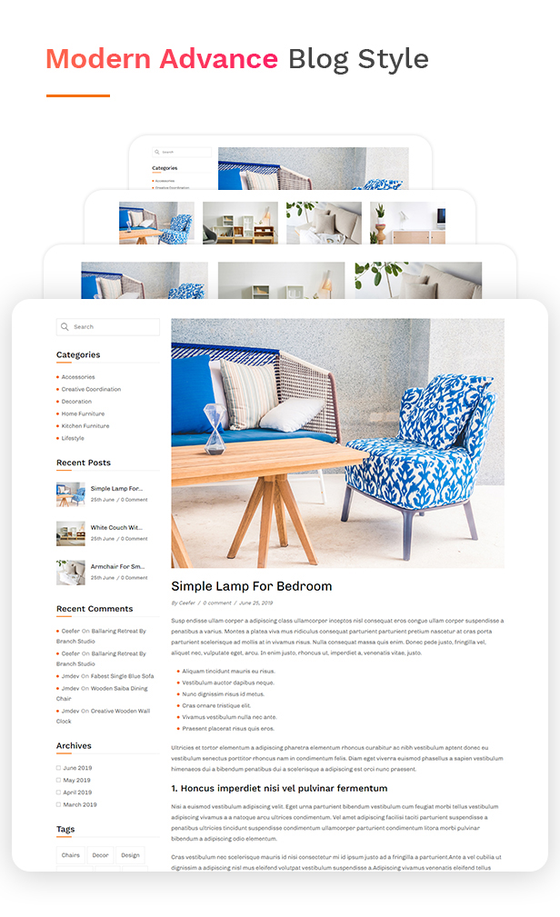 Ceefer | eCommerce WordPress Theme