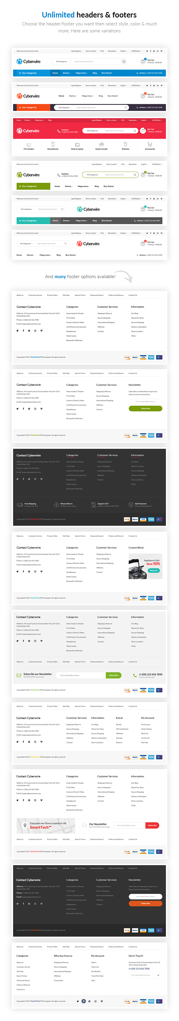 CyberWire | eCommerce WordPress Theme