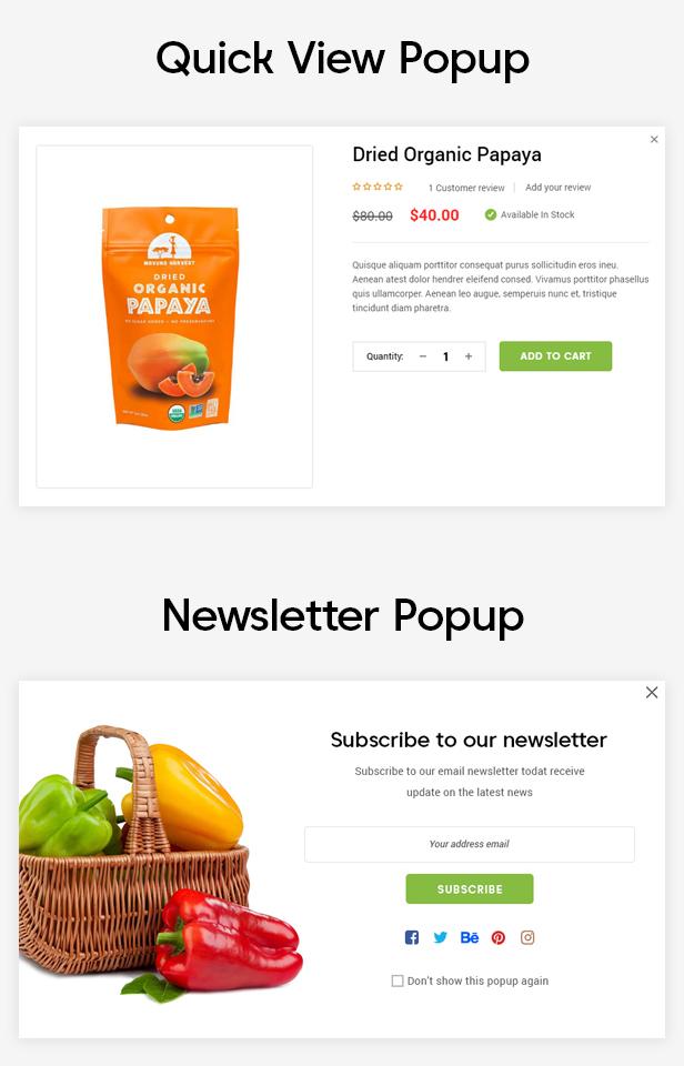 EkoFood | Responsive WordPress Theme