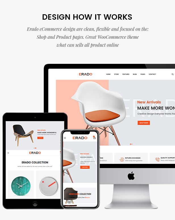 Erado | eCommerce WordPress Theme