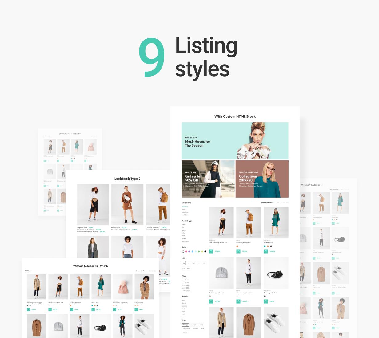 Yanka – Multipurpose eCommerce Theme, Gobase64