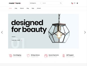 Minimal Handmade eCommerce WordPress Theme