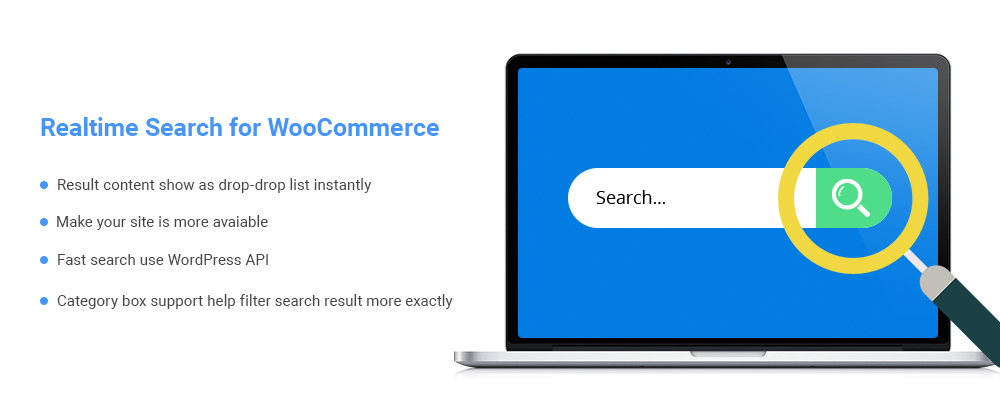Realtime search for WooCommerce